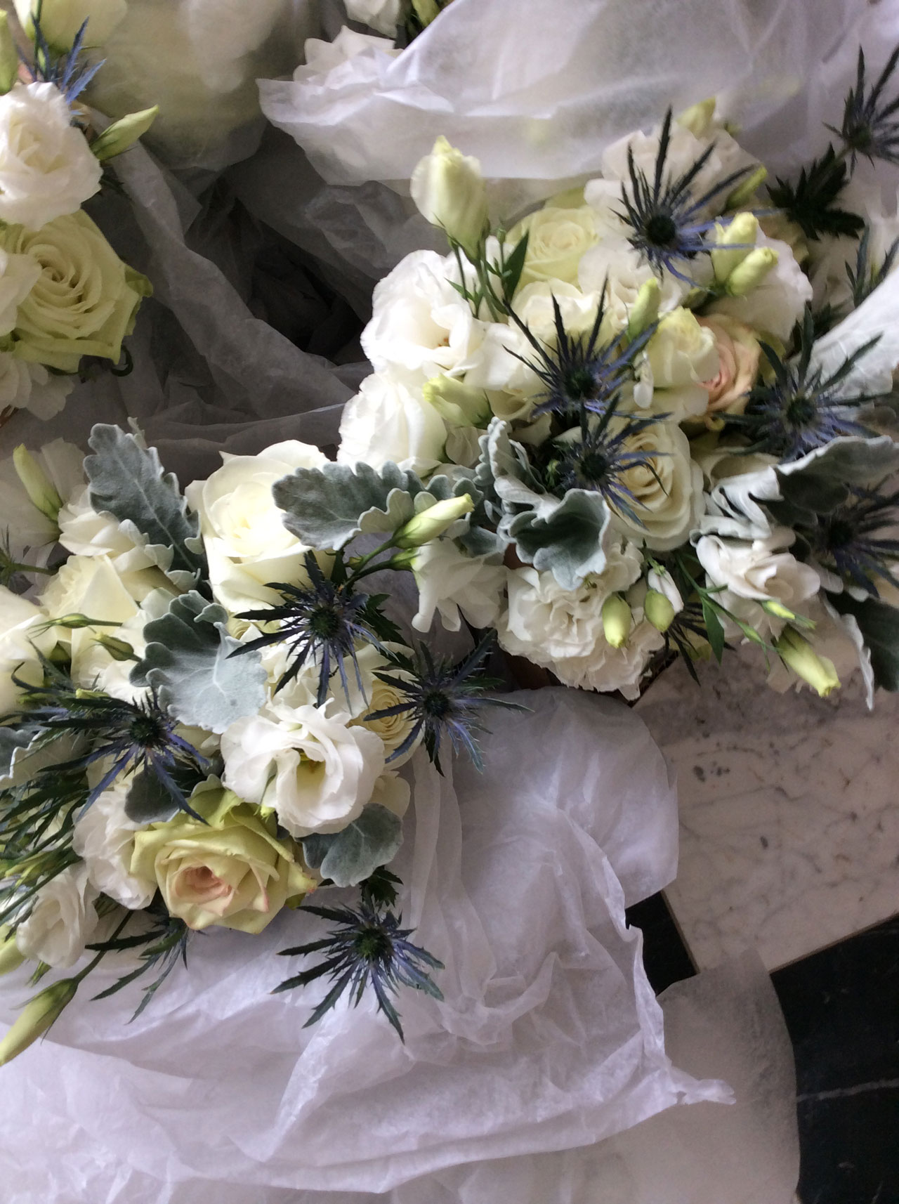 Elegant Effects in Floral Design - Attendant Bouquets