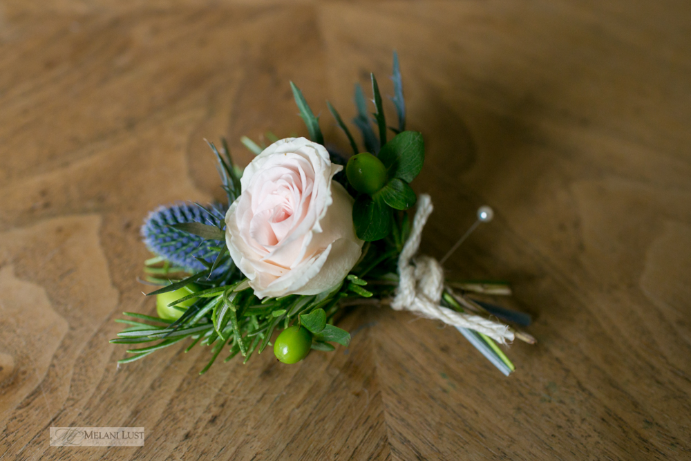 Elegant Effects in Floral Design - Buttonhole