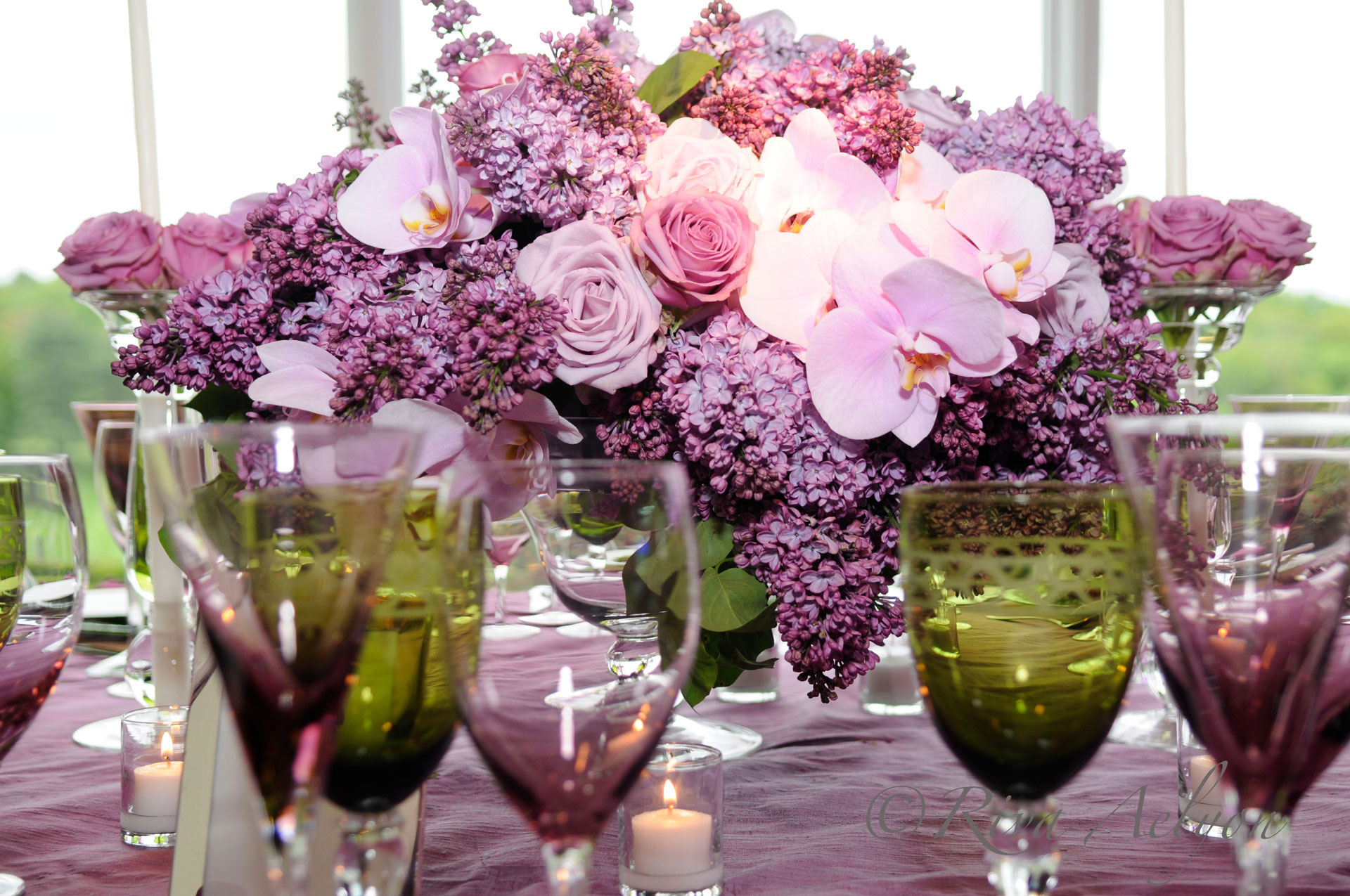 Elegant Effects in Floral Design - Table Centerpiece
