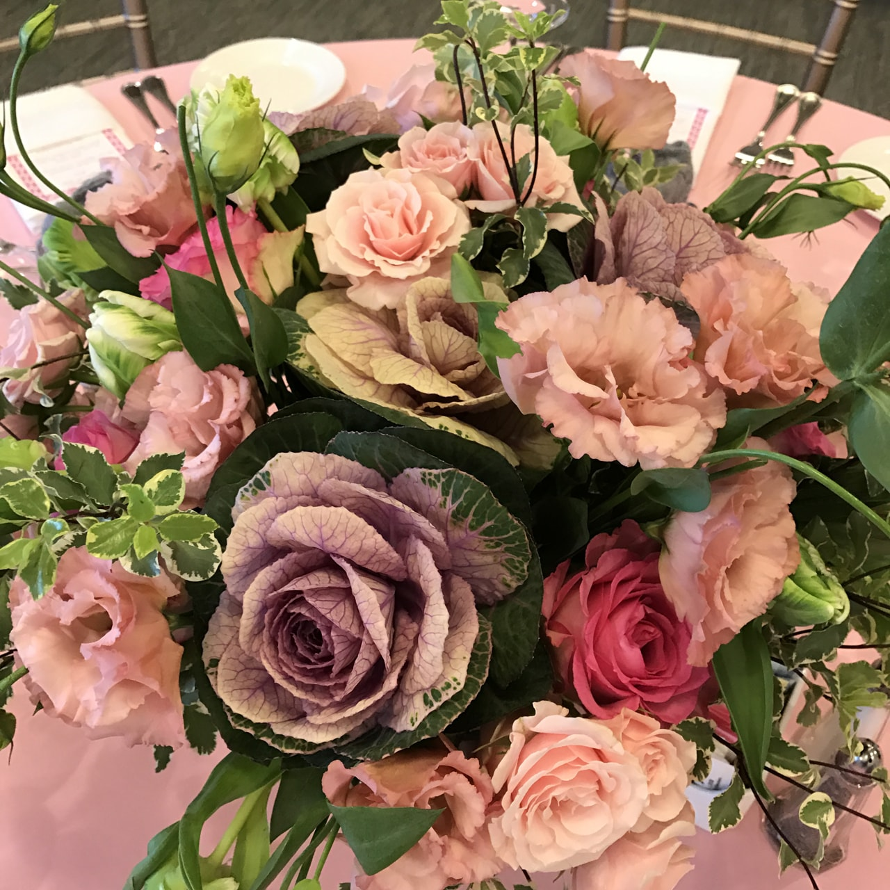 Elegant Effects in Floral Design - Wedding  Centerpiece